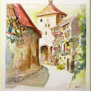 Turckheim,village alsace