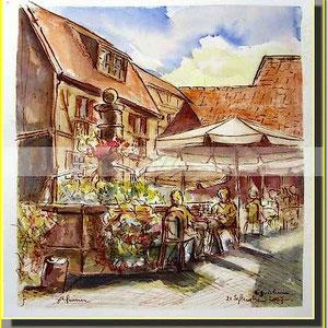 *  12a Eguisheim,village alsace