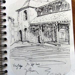 161- La halle couverte de Vézelise