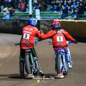 Valentin Grobauer und Leon Madsen