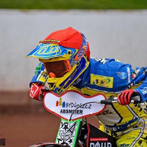 Valentin Grobauer beim Start