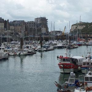 Hafen von Dieppe