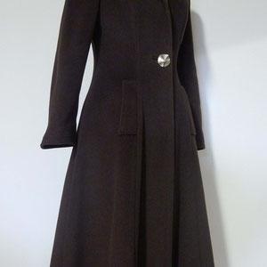 manteau femme col chale sur mesure Vêtements sur mesure