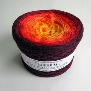 Feuerball Farbverlaufsgarn