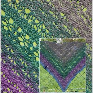 Tawarwaith (Waldelben) von Morben Design / Wolle: Elbenwald / Verbrauch 1000m / gehäkelt von Magdalena Palm