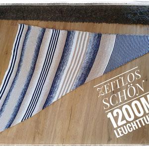 """""""Zeitlos schön"""" 1200m,  gestrickt und fotografiert von Zwir Ni bei facebook"""