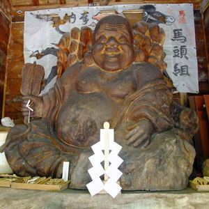 ここからの6枚は、最終目的地「飛騨の里巨大七福神」で撮った写真です。