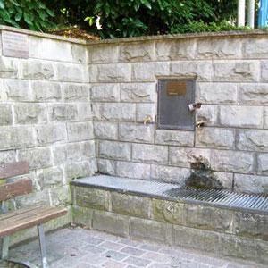 1998 Restauro della fontana
