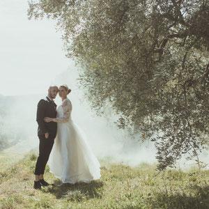 photographe Mariage toulon provence var olivier fumigene amour engagement