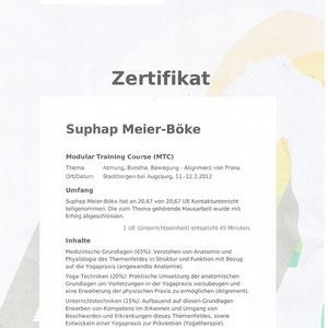 Suphap Prabpai (vormals Meier-Böke) - Zertifikat Atmung und Bewegung