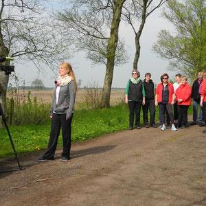 Breathwalk mit den Landfrauen in Groß Sterneberg,short clip 2014