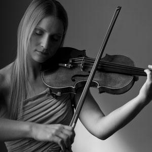 Geige für Hochzeitenen