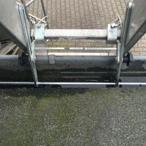Leiterkopfsicherung für Dachrinnen