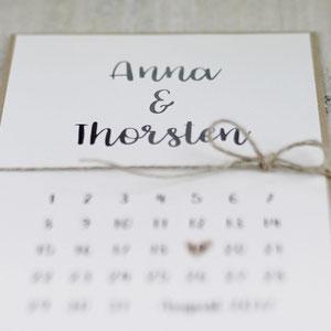 Save-the-date-Karte, Hochzeit, Hochzeitskarte, Karte zur Hochzeit