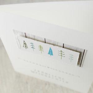 X-Mas, Weihnachtskarte, Karte zu Weihnachten, Advent