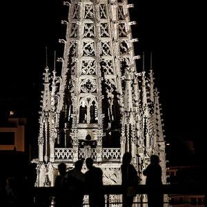 Contraluz. Catedral de Burgos
