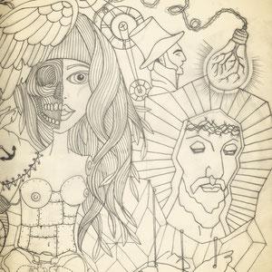 tattoo artwork * for andi * by visob *2012