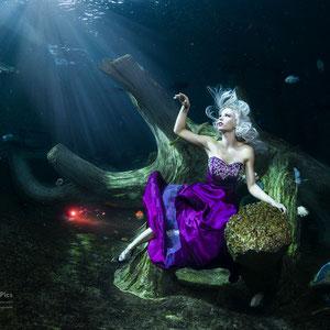 Unterwasser Fashion