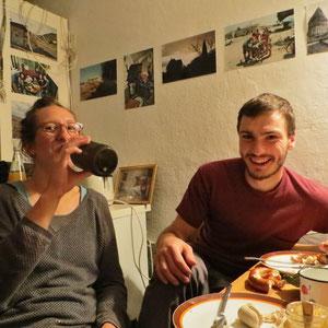 Ein entspannter Abend mit Franzi und Raik zum Abschluss. Wir haben das Wiedersehen nach einem Jahr sehr genossen.
