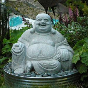 Buddha aus Granit
