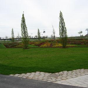 Landschafts Beete