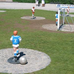 Fußballfeld (Zellengarten)