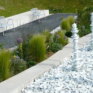 Meissener Porzellan-Garten
