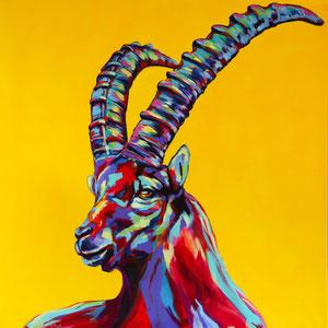 120x120 cm, acrylic on canvas