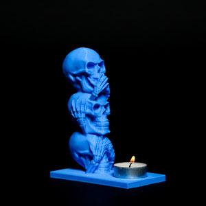 Halloween und Totenköpfe