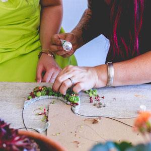 Cours d'art florale entreprise et collectivité