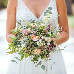 Les fleurs pour le mariage