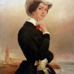 Копия с портрета Веры Васильевны Самойловой (начало 1840-х)