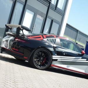 Porsche Design Folierung