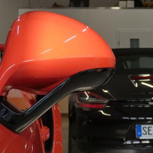 Porsche GT3 RS Lackschutzfolierung