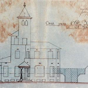 AMSJD. Projecte original de Jujol. 1921.