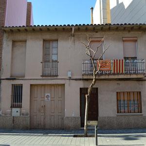 Casa del Camí del Mig 23. Desembre 2018. Fotografia: Raúl Sanz.