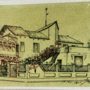 AHCAC. Projecte reforma Jujol, 1927.