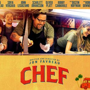 <h3><b>Kiss the Cook<p>OT: Chef</p></h3><p>2015 (ab 28. Mai 2015 im Kino)</p><p>Comedy, Drama</p><p>© Koch Media GmbH</b></p>