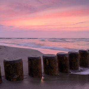 Ostsee nach Sonnenuntergang