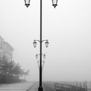 Nebel schwarzweiß