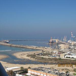 Vue côté port