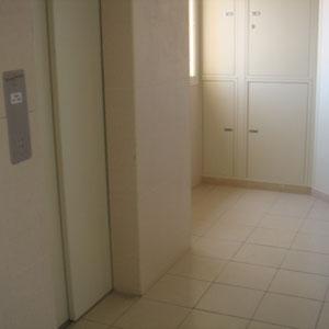 Ascenseur et lobby