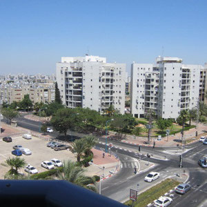 vue sur Shderot Yeroushalaim