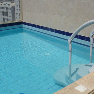 Swimingpool on the terrace