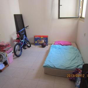 1ère chambre (de sécurité) au rez de chaussée