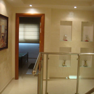 Couloir au niveau supérieur