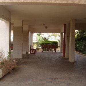 entrée d'immeuble