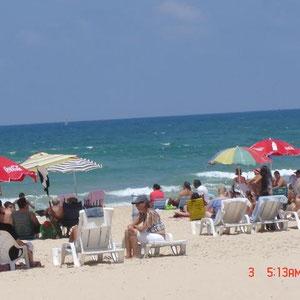 La plage en été