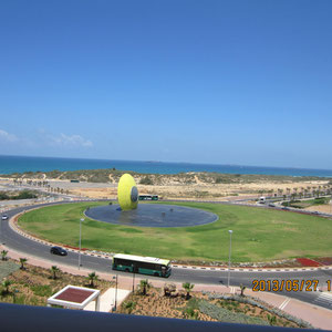 Le plus grand rond point d'Ashdod