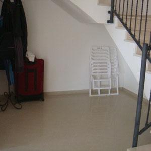 Espace sous l'escalier